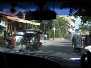 A typical urban Manila street