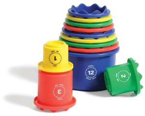 Measure Up Cups by Discovery Toys