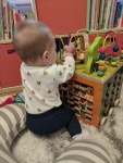 Infant Play: Fun with the Zany Zoo